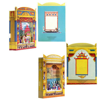 12  Aladdin and the Gondoliers Pop-out Theatre Greeting Cards EC0010