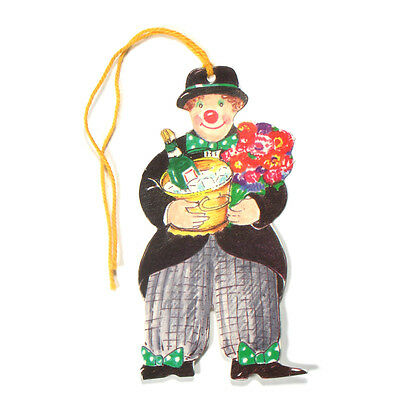 125 Clown Shaped Gift Tags for Birthdays or Seasonal Celebrations ET0003
