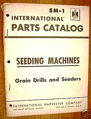 International Seeding Machines - Parts Catalog