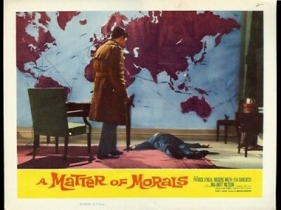 A Matter of Morals  Lobby Card #2