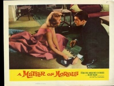 A Matter of Morals  Lobby Card #1