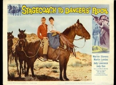 Stagecoach to Dancers' Rock  Lobby Card