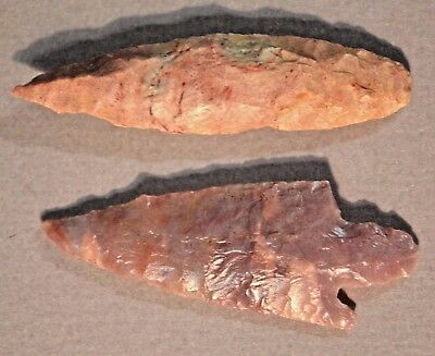 African Neolithic Stone Knap Projectile Points Arrowheads Sahara Desert, Africa