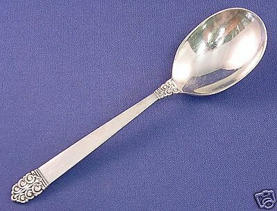 Northern Lights by International Sterling Silver Olive Spoon Ideal Custom 6/""