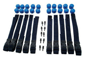 Solar Cover and Heat Retention Strap Set Swimming Pool Roller Attachment Kit 1m