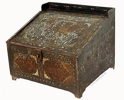 Antike Kasse Truhe Tresor Safe Geldschrank Russland antique strongbox cash box