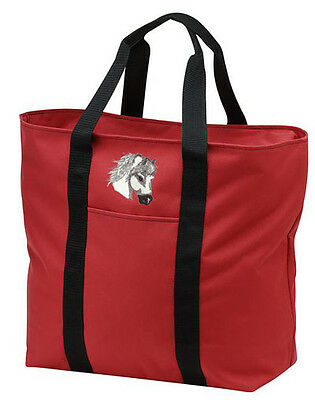 PONY embroidered tote bag ANY COLOR