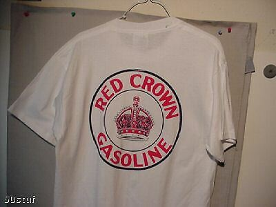 Vintage Style Red Crown Gas Station Attendant T-Shirt