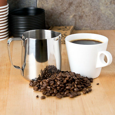Espresso/milk Frothing Pitcher 20 Oz Stainless Steel Free Shipping Us Only