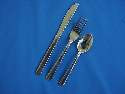 576  Pieces Windsor Flatware 18/0 Stainless Free Shipping Us Only