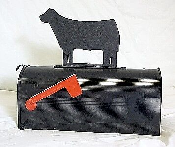4-H FFA SHOW COW STEER Heifer Mailbox TOPPER Sign Steel