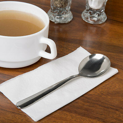 144  Bouillon Spoons Windsor Flatware 18/0 Stainless Free Shipping Us Only