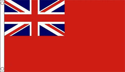 8' x 5' RED ENSIGN Merchant Navy Duster Flag Extra Large Funeral Coffin Drape