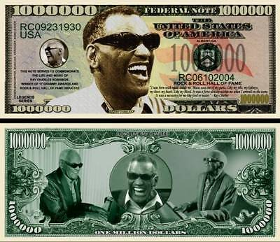 IN MEMORY OF RAY CHARLES BILL (2/$1.00)
