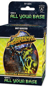 Monsterpocalypse All Your Base Unit Booster Case Sealed
