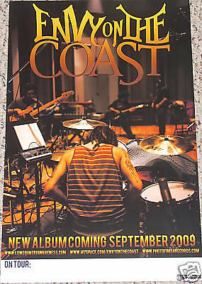Envy on The Coast PROMOTIONAL POSTER tour music