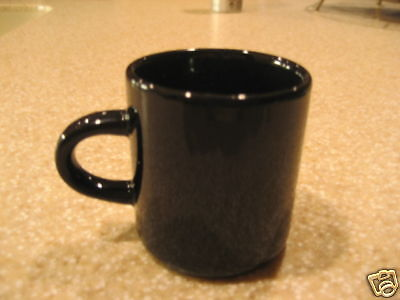 Espresso Cup 3 Oz Black Free Shipping Us Only