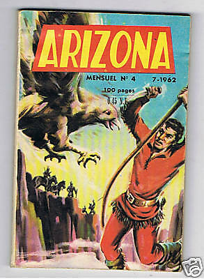 Arizona  N°4  Editions Des Remparts 1962