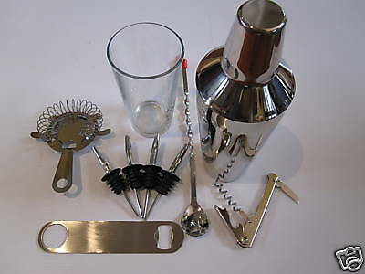 Usa Seller  Bartender's  Kit (12) Pieces Free Shipping Usa Only