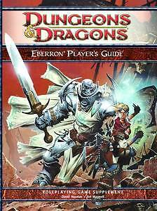 Dungeons & Dragons 4th Ed Eberron Player's Guide New