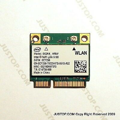 Dell Intel WiFi Link 5100 802.11n Half Height Mini Card