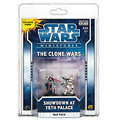 Star Wars Miniatures Showdown Teth Palace Map Pack New