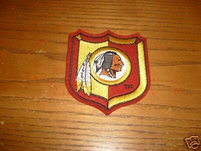 VINTAGE NFL WASHINGTON REDSKINS IRON ON PATCH 3""
