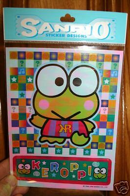 Keroppi Hello Kitty Package of 2 Stickers