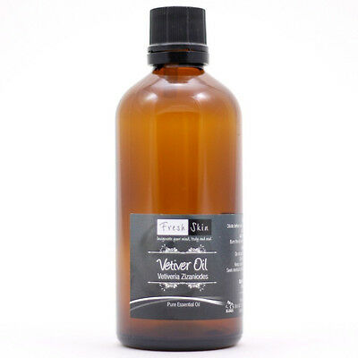 100ml Vetiver Pure Essential Oil
