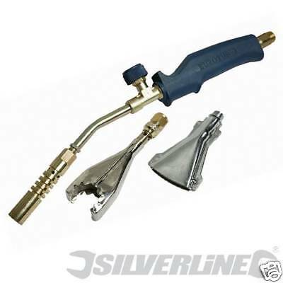 4pc PLUMBERS TORCH KIT FOR BRAZING SOLDERING STRIPPING