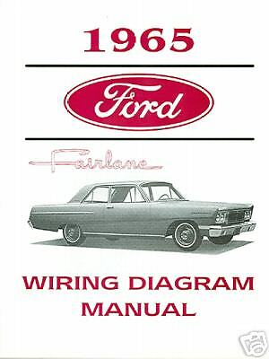 1965   Ford Fairlane  Wiring Diagram  Manual