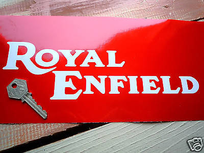 ROYAL ENFIELD CONTINENTAL GT250 2x PETROL TANK STICKERS