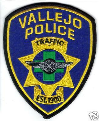 Vallejo Traffic Police Patch