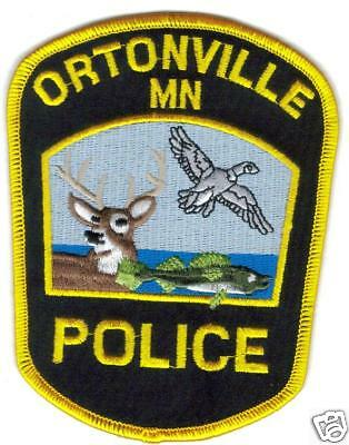 Ortonville Police Patch