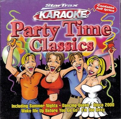 Karaoke - Party Time Classics - Contains Lyrice NEW CD