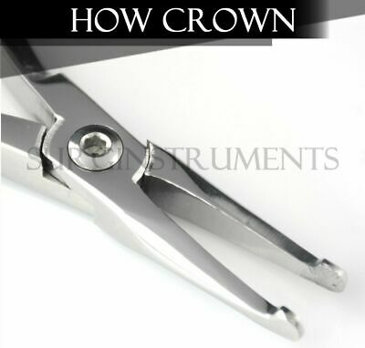 How Crown Pliers STRAIGHT Dental Oral Orthodontic Instruments