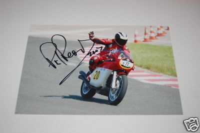 Famous Motogp Rider Phil Read signed photo.