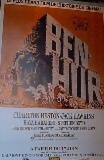 French -Ben Hur - Orig Re-Release  Large Movie  Poster