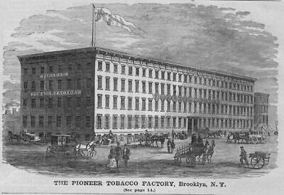 Pioneer Tobacco Factory Brooklyn, New York Architecture