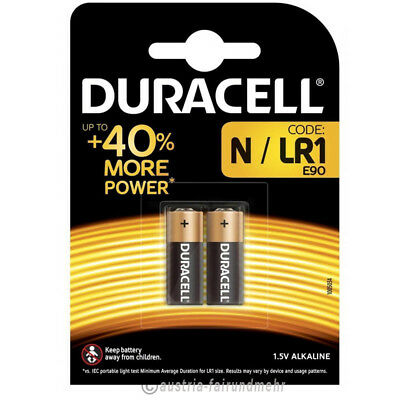 """4x Lady N Security Batterie MN9100 LR01 LR1 DURACELL"