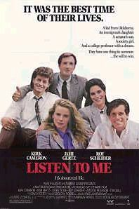 Listen To Me  Original  Full Size Movie Poster Rolled