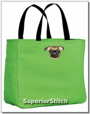 BRUSSELS GRIFFON embroidered essential tote ANY COLOR