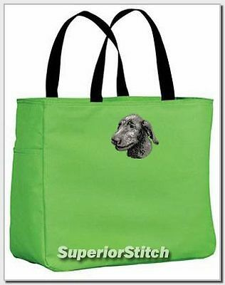 IRISH WOLFHOUND embroiderd essential tote bag ANY COLOR