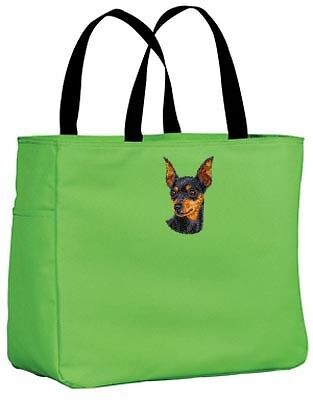 MINIATURE PINSCHER essential tote bag ANY COLOR
