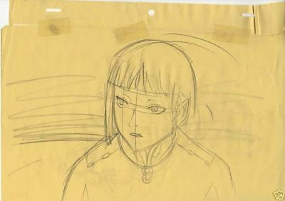 Anime Genga not Cel Last Exile 2 pages #2
