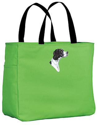 POINTER embroidered essential tote bag ANY COLOR