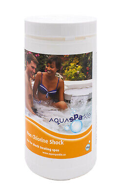 Aquasparkle Non Chlorine Shock 1kg Hot tub Spas Swimming Pool  Bromine Chlorine
