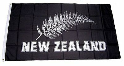 Fahne / Flagge New Zealand Feder Black NEU 90 x 150 cm