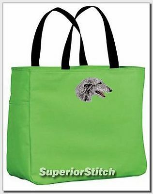 SCOTTISH DEERHOUND essential tote bag ANY COLOR