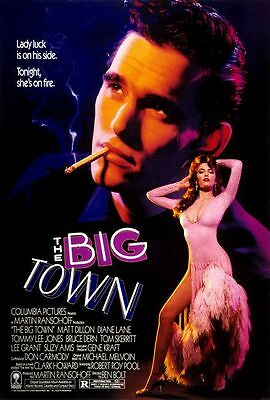 The Big Town  Original  Rolled Full Size Movie Poster